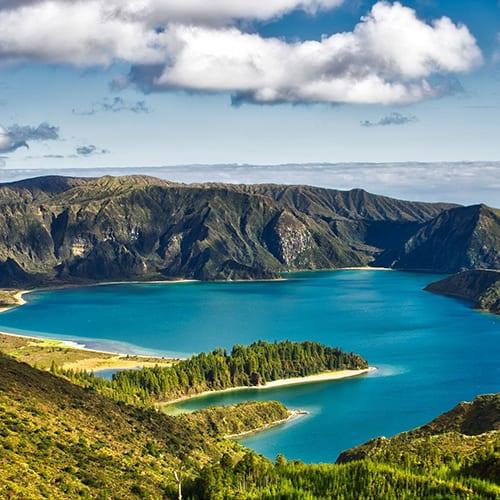 Azori, oaza mira